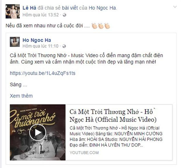 Hồ Ngọc Hà cảnh báo Thanh Hằng không được đánh ghen khi xem MV mới của mình - Ảnh 14.