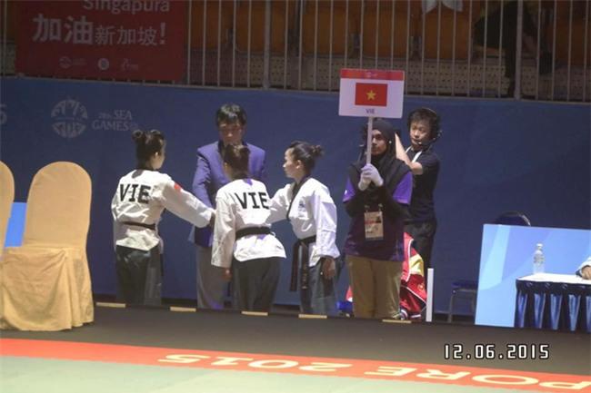 Hoa khôi Taekwondo Việt Nam ám ảnh vì chủ nhà và trọng tài tại SEA Games - Ảnh 1.