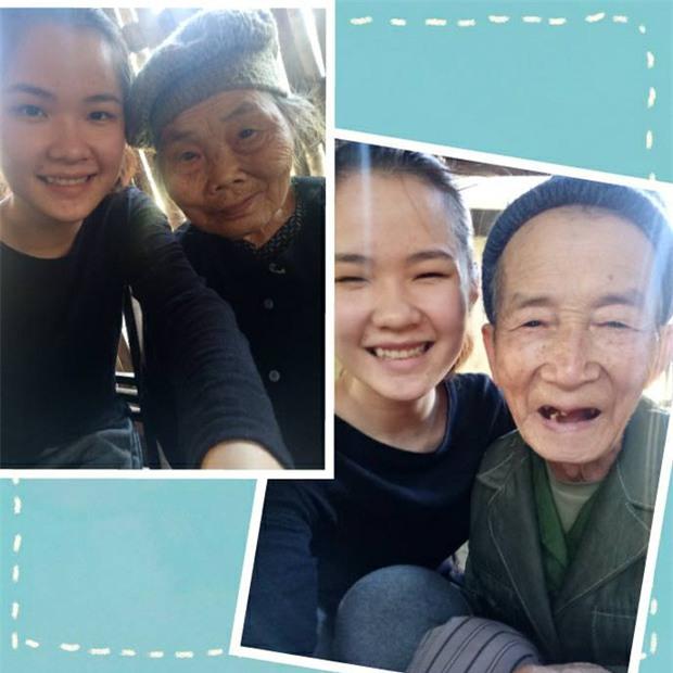 Hình ảnh xúc động: Sợ cháu vất vả, bà ngoại 75 tuổi một mình trèo cây thu hoạch quả - Ảnh 3.