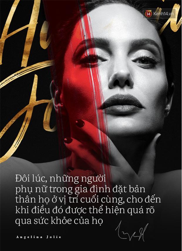 Angelina Jolie bị liệt cơ mặt, tăng huyết áp và chia sẻ về cuộc ly hôn với Brad Pitt - Ảnh 2.