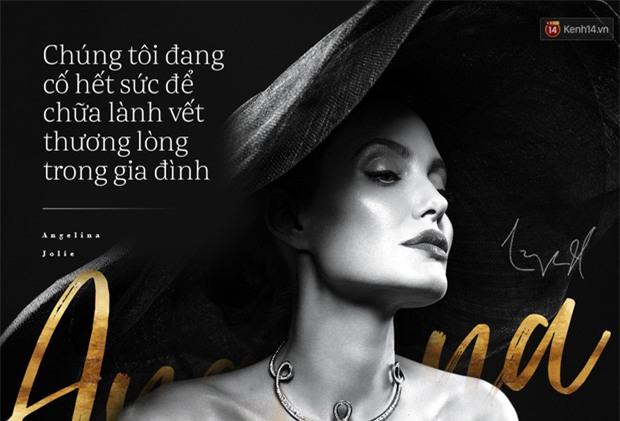 Angelina Jolie bị liệt cơ mặt, tăng huyết áp và chia sẻ về cuộc ly hôn với Brad Pitt - Ảnh 3.