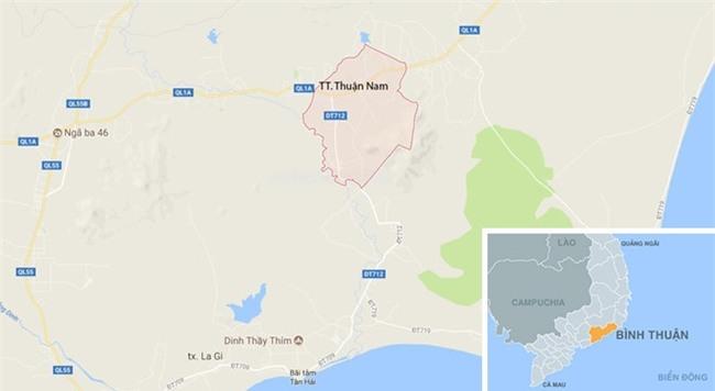 2 can bo Cong an Binh Thuan tu vong khi xe Camry bi tong tu phia sau hinh anh 3
