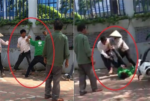 Hà Nội: Tài xế Grab Bike cầm gạch đánh nhau với xe ôm truyền thống tại bến xe Mỹ Đình - Ảnh 1.