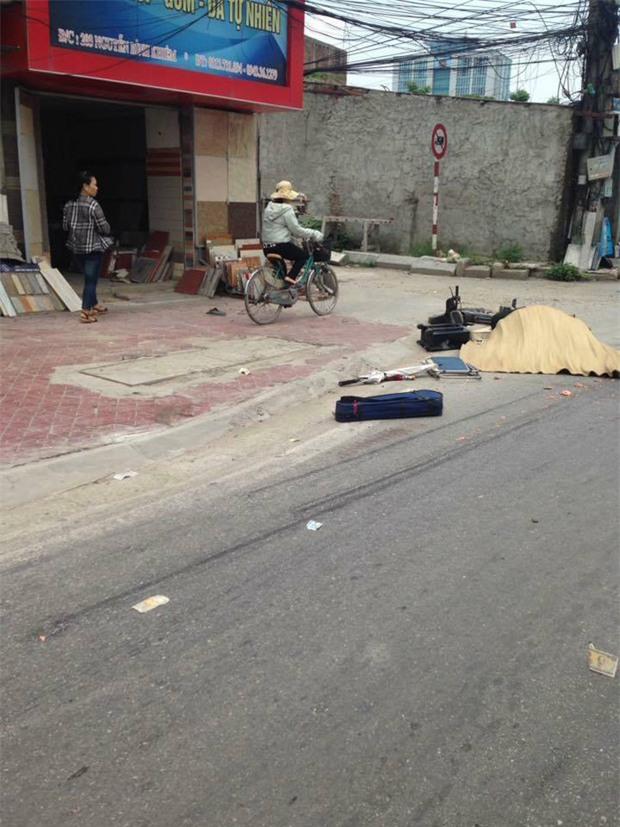 Nghệ sĩ đường phố 82 tuổi ở Hải Phòng bị xe container tông tử vong - Ảnh 1.
