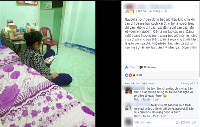 Lần đầu sử dụng điện thoại xịn, người mẹ này đã quên ăn, quên ngủ và cấm con gái đi chơi để dạy mình xài - Ảnh 1.