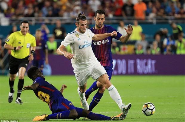 Messi nổ súng giúp Barca đả bại Real trên đất Mỹ - Ảnh 3.