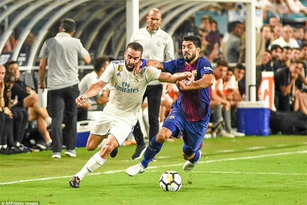 Messi nổ súng giúp Barca đả bại Real trên đất Mỹ - Ảnh 6.