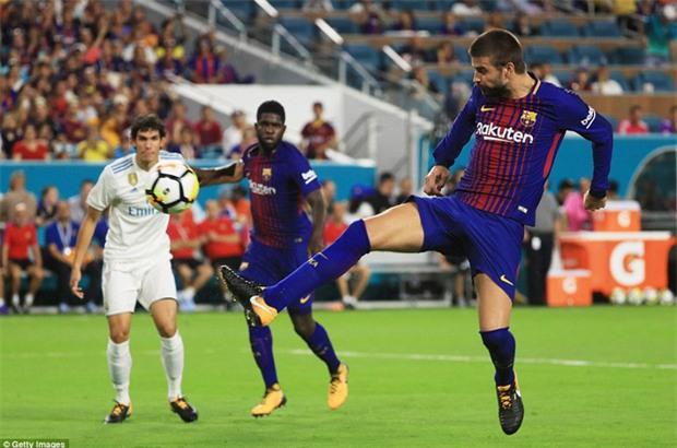 Messi nổ súng giúp Barca đả bại Real trên đất Mỹ - Ảnh 10.