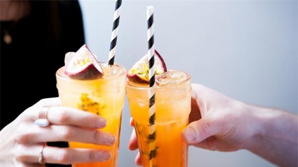 Đã khát ngày hè với món soda trái cây mát lịm - Ảnh 6.