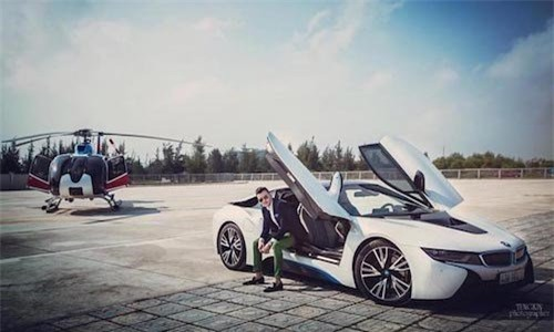 siêu xe, siêu giàu, ái nữ, thiếu gia, khoe của