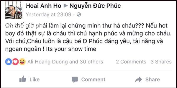 Đồng loạt nghệ sĩ Việt chúc mừng Đức Phúc đã có diện mạo nam thần-6