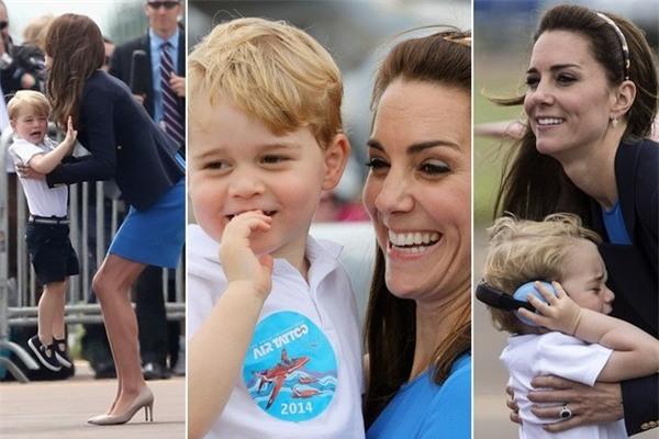 Xem cách công nương Kate Middleton khéo léo xử lí cơn ăn vạ của con y như một chuyên gia tâm lý - Ảnh 9.