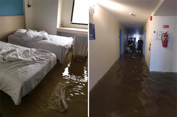 Loạt ảnh đáng sợ về thảm cảnh ngập lụt đang khiến người dân Thái Lan khốn đốn - Ảnh 10.