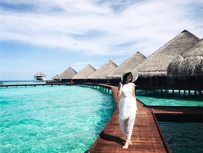 Ghen tị với cô vợ hotgirl được chồng rủ đi Maldives để kỷ niệm 7 năm ngày cưới - Ảnh 13.