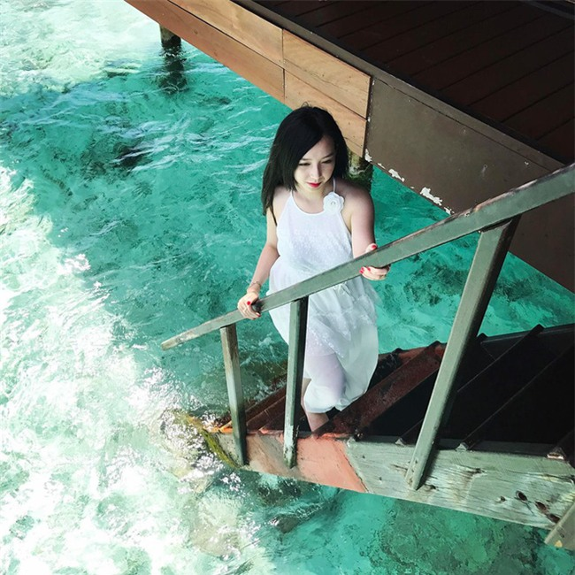Ghen tị với cô vợ hotgirl được chồng rủ đi Maldives để kỷ niệm 7 năm ngày cưới - Ảnh 16.
