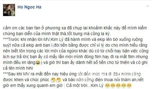 Kim Lý, Hồ Ngọc Hà, diễn viên Kim Lý, Hà Hồ