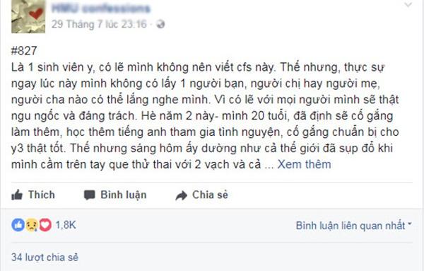 uong thuoc tranh thai van dinh bau, co sinh vien 20 tuoi len mang cau cuu - 2