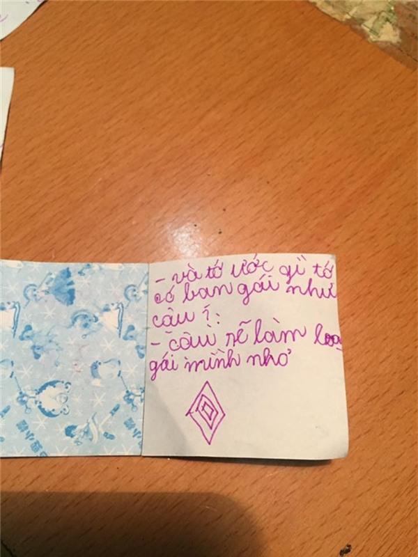 Không thể tin vào mắt mình những bức thư tình tiểu học thời nay - Ảnh 4.