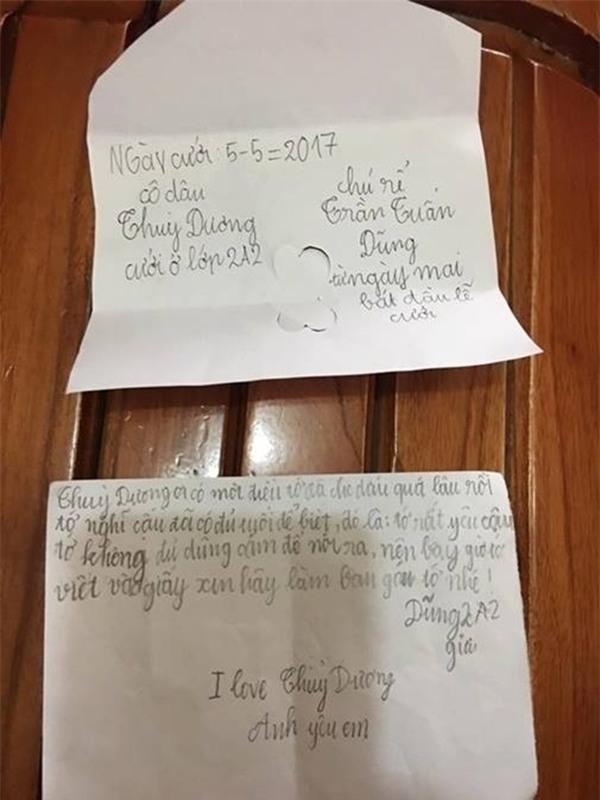 Không thể tin vào mắt mình những bức thư tình tiểu học thời nay - Ảnh 6.