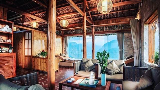 2 resort có bể bơi vô cực với view đụng núi đẹp ngất ngây, cách Hà Nội chỉ 1 đêm đi tàu - Ảnh 5.