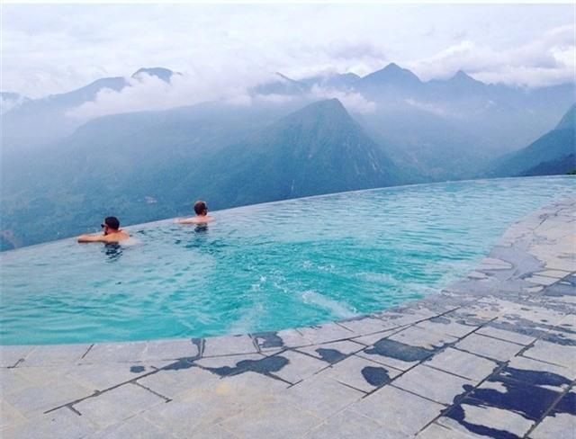2 resort có bể bơi vô cực với view đụng núi đẹp ngất ngây, cách Hà Nội chỉ 1 đêm đi tàu - Ảnh 8.