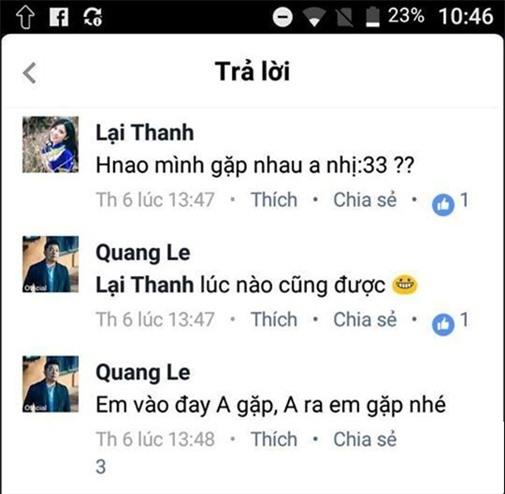 Thanh Bi, Thanh Bi và Quang Lê, Quang Lê