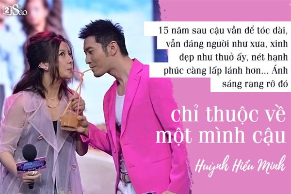 13 năm đơn phương yêu Triệu Vy, vạn lời tỏ tình của Huỳnh Hiểu Minh khiến nhiều người 'ngã gục'-4