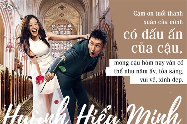 13 năm đơn phương yêu Triệu Vy, vạn lời tỏ tình của Huỳnh Hiểu Minh khiến nhiều người 'ngã gục'-5