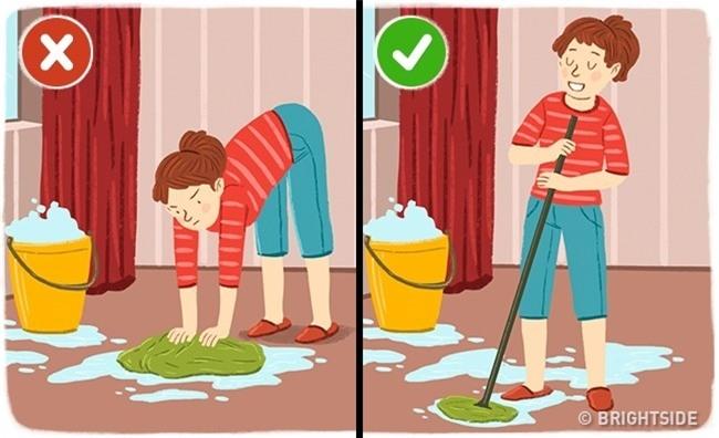 Đánh răng, rửa bát cũng làm hỏng cột sống vì lý do này - 4