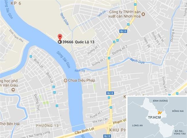 Thanh nien 25 tuoi chet loa the tren song Sai Gon hinh anh 2