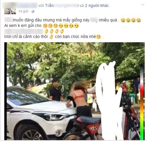Phẫn nộ đoạn video 3 nữ sinh đánh hội đồng, xé rách áo bạn gái giữa đường - Ảnh 3.