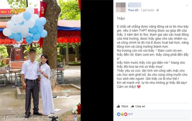 Thầy giáo qua đời vì TNGT khi vợ đang mang thai, nhiều thế hệ học sinh THPT Phùng Khắc Khoan bàng hoàng tiếc thương - Ảnh 2.