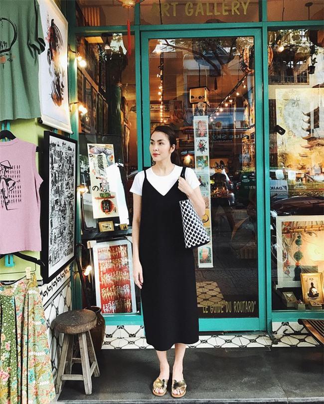 Kỳ Duyên và tình mới của Cường Đôla cùng khoe vai trần trong street style tuần này - Ảnh 4.