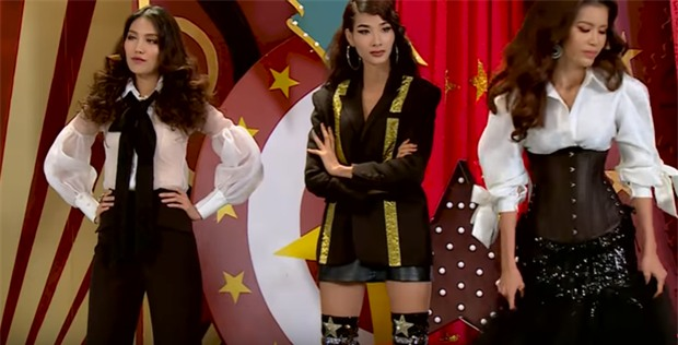 Không phải Lan Khuê, chính Hoàng Thùy mới là 'chị Đại' tại The Face 2017-12