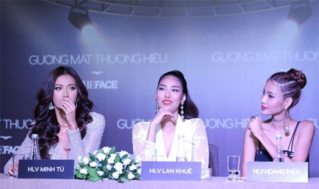 Không phải Lan Khuê, chính Hoàng Thùy mới là 'chị Đại' tại The Face 2017-2
