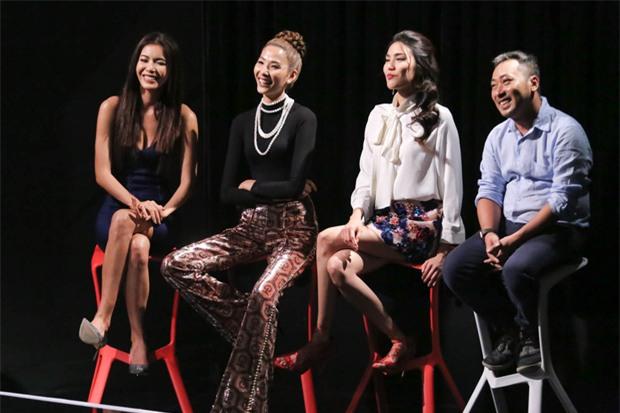 Không phải Lan Khuê, chính Hoàng Thùy mới là 'chị Đại' tại The Face 2017-9