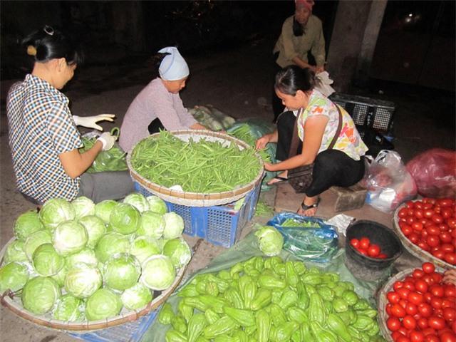 Nhiều loại rau đang đội giá gấp đôi tại các chợ Hà Nội. ảnh: T.G