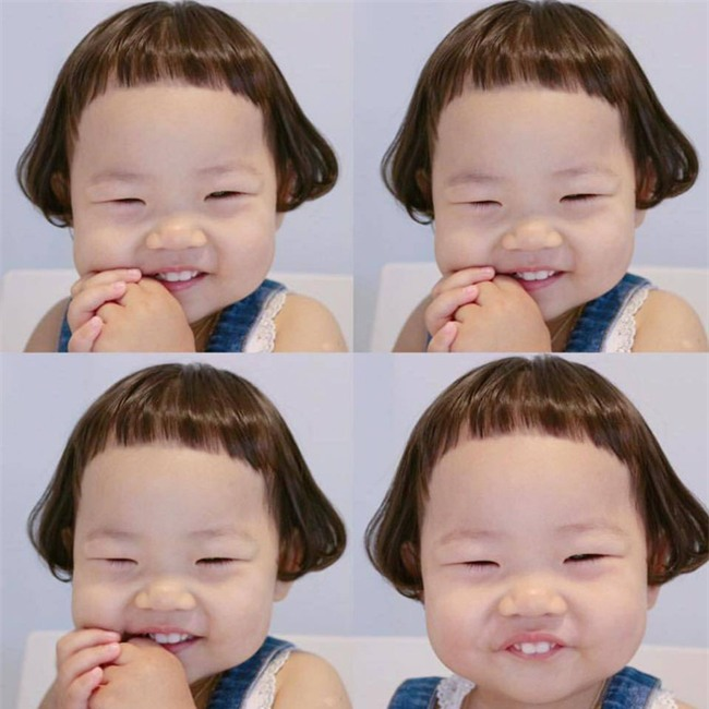 Cô nhóc Hàn Quốc có mái tóc 'gáo dừa' dễ thương đi đâu cũng được xuýt xoa-2