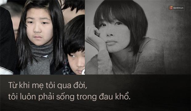 9 năm sau vụ tự tử liên hoàn của bố mẹ, con gái Choi Jin Sil đột ngột cầu cứu vì bị bà ngoại đánh đập - Ảnh 1.