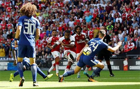 Lacazette bỏ lỡ cơ hội của Arsenal