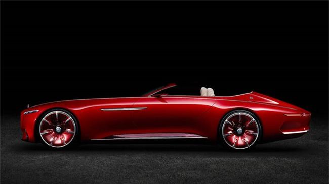 Mau mui tran sieu sang Mercedes-Maybach S600 Concept sap ra mat hinh anh 1