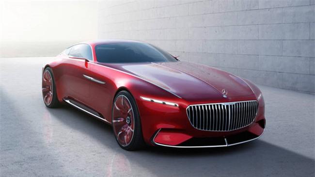 Mau mui tran sieu sang Mercedes-Maybach S600 Concept sap ra mat hinh anh 2