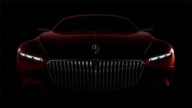 Mau mui tran sieu sang Mercedes-Maybach S600 Concept sap ra mat hinh anh 3