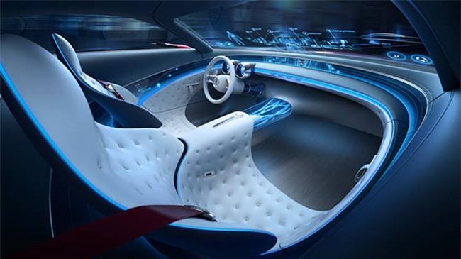 Mau mui tran sieu sang Mercedes-Maybach S600 Concept sap ra mat hinh anh 4