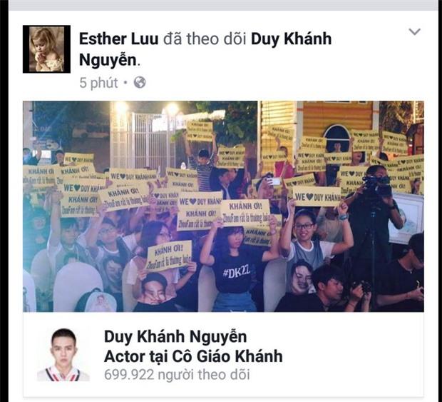 Sau nhiều lần dằn mặt, Hari Won bất ngờ theo dõi facebook Duy Khánh - Ảnh 1.