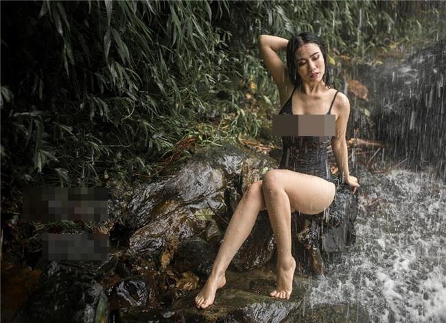Trọn bộ ảnh nội y phản cảm của Linh Miu bị dân mạng 'ném đá vỡ đầu'-10