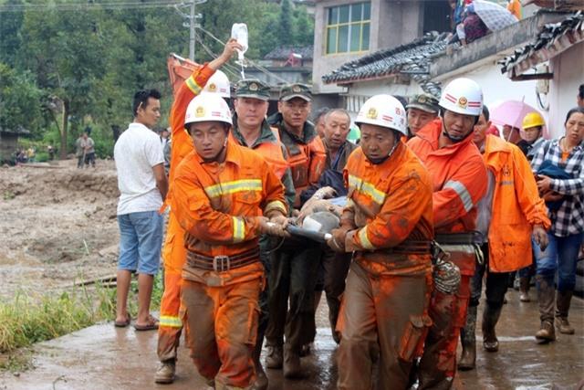 Hồi tháng 7, lũ quét và sạt lở đất ở tỉnh Hồ Nam, Trung Quốc đã khiến ít nhất 63 người thiệt mạng và buộc 1,6 triệu người dân phải đi sơ tán. (Ảnh: Reuters)
