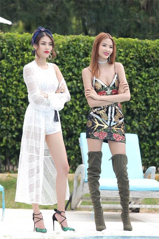 Vì thời trang mà Hoàng Thùy - Minh Tú - Lan Khuê quên hết thời tiết-3