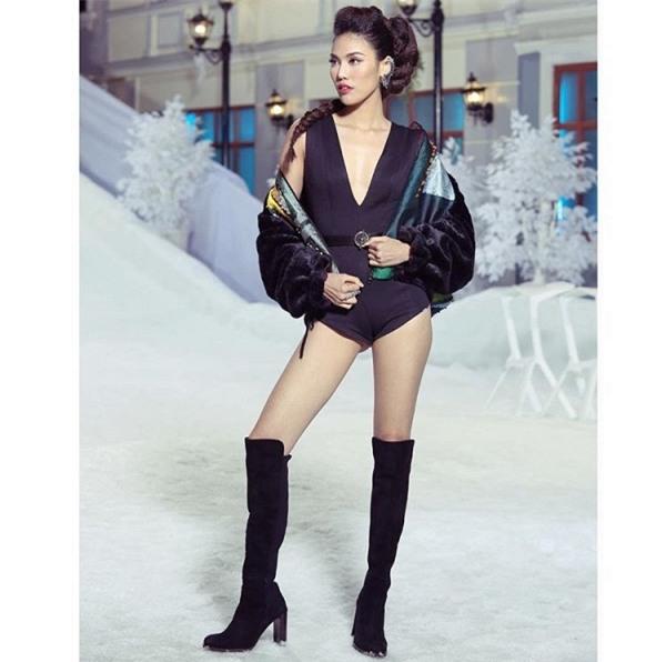Vì thời trang mà Hoàng Thùy - Minh Tú - Lan Khuê quên hết thời tiết-9