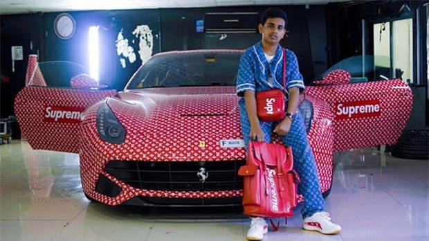 Cuộc sống toàn hàng hiệu, siêu xe, thú cưng đặc biệt và làm bạn với người nổi tiếng của cậu ấm Dubai 15 tuổi-1